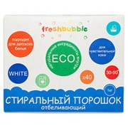 Freshbubble, Порошок для стирки белья, отбеливающий, 1000 г фото