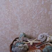 Декоративное покрытие, Нанесение декоративной штукатурки Лувр. фото
