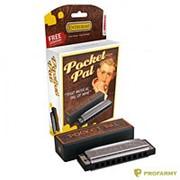Hohner губyая гармошка M59501X Pocket Pal C фото