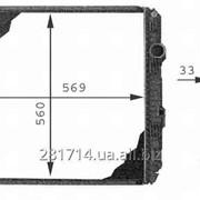 Радиатор охлаждения MB Ate.1 7-12T 98r-04r фото