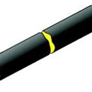 Трубы стальные с тепловой изоляцией из пенополиуретана в полиэтиленовой оболочке фото