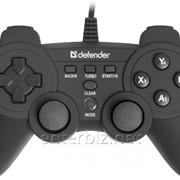 Геймпад Defender Game Racer X7 (64254) черный USB фото