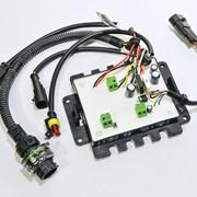 Блок управления 24В МАЗ М-5 (индикатор пламени лампочный) фото