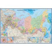 Настенная карта России фото