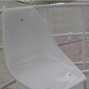 Сиденья для стадионов,Сиденье стеклопластиковое для аттракционов, трибун фото