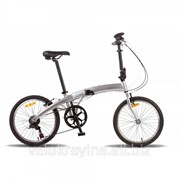 Велосипед 20'' PRIDE MINI 6sp серебристый глянцевый 2016 SKD-91-22 фото