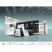 Изготовление выставочных стендов от 9500 до 16000 тг/кв.м. фото