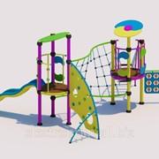 Комплексное детское сооружение модель КМ07 фото