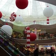 Новогоднее оформление торговых центров фото