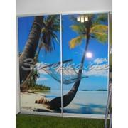 Двери для шкафов купе с изображением пляжа фото