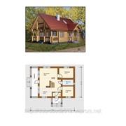 Дома деревянные, Будинок 11700х8000 фото