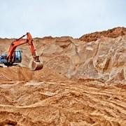 Мытый песок. Напрямую с карьера. 20т фото