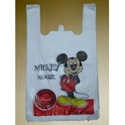 "Пакет тип ""майка"" 27x49 Mickey Mouse фото"