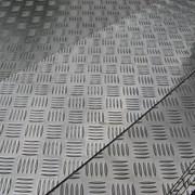 Алюминиевый лист рифленый от 1,2 до 4мм, резка в размер. Гладкий лист от 0,5 мм. Доставка по всей области. Арт-517 фото