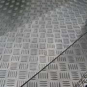 Алюминиевый лист рифленый от 1,2 до 4мм, резка в размер. Гладкий лист от 0,5 мм. Доставка по всей области. Арт-127 фото