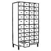 Шкаф для талонов к врачу 446.14,13 850х430х1820 фото