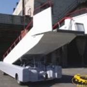 Средства механизации аэропортов. Пассажирские трапы СПТ-114, СПТ-154 фото