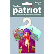 """Ароматизатор подвесной майка """"Freshco Patriot для НЕГО"""" MIX (5SKUx8шт) AZARD фото"""