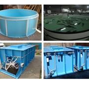 Бассейны для вырашивания живой рыбы, емкости для комплектования машины предназначенной под перевозку живой рыбы, а также емкости для продажи живой рыбы. фото