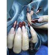 Профессиональное наращивания ногтей,маникюр и педикюр. фото