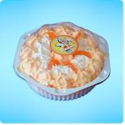 Торт-мороженое Орхидея апельсин фото