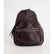 """Кожаный рюкзак """"Гефест XL"""" (коричневый) фото"""