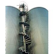 Лестница спиральная фото