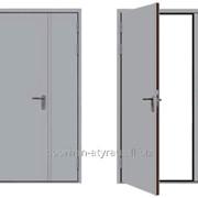 Противопожарная дверь DoorHan двустворчатая 1980х2050 фото