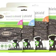 Повязка на шею с пропиткой от блох и клещей M(33-44см) Insect Shield Dog Snood SCRUFFS фото