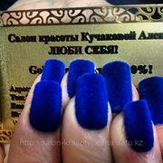 Новинка! Зимний тренд 2012-2013 Бархатный маникюр! фото