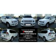 Аренда Toyota Land Cruiser Prado 120, 150 белого/черного цвета для любых мероприятий фото