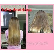 Наращивание натуральных волос, качественно фото