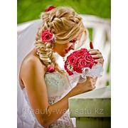 Свадебный макияж и прическа фото