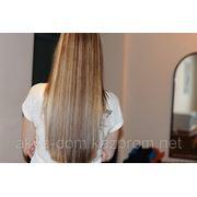 Окрашивание волос профессиональной косметикой салерм. фото
