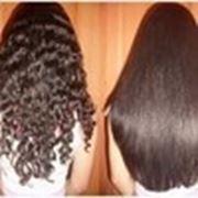 Выпрямление волос. Бразильское выпрямление волос. фото