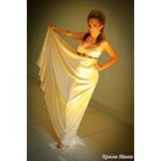Платье из тонкого атласа Патриция фото
