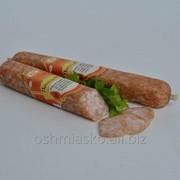 Колбаса салями Посольская сырокопченая фото