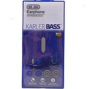 Внутриканальные наушники Karler BASS KR 204 синий фото