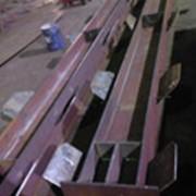 Конструкции металлические (колонны, фермы, балки перекрытий) фото