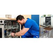 Установка и ремонт посудомоечных машин фото