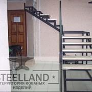 Лестница с площадкой фото