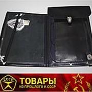 Планшет офицерский черный (Кожа) фото
