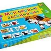 """Ассоциации-цепочкой """"Мои первые ассоциации"""" Рыжий кот, 32 карточки, 3+, ИН-9920 фото"""