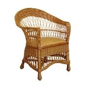 Кресло из лозы плетенное фото