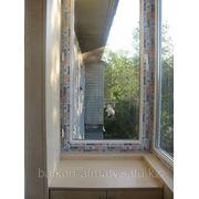 Остекление балконов и лоджий окнами ПВХ фото