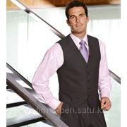 Комплект (Рубашка мужская, Жилет классический на подкладе) фото