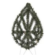 Ритуальные венки от производителя 105*60 из искуственной хвои фото