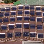 Недорогой солнечный вакуумный коллектор фото