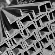 Швеллер стальной горячекатанный (ГОСТ 8240-97) 60х32х2,5/4стЗсп/пс фото