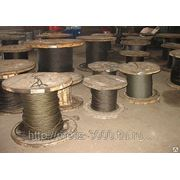 Канат стальной 29 ГОСТ 3069-80 двойной свивки типа ЛК-О для стоячего такела фото
